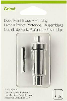 Cricut Deep Point Blade and Housing, 1.7mm (2002293) Sealed