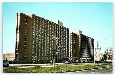 Postcard MI East Lansing Hubbard Hall Michigan State University E03