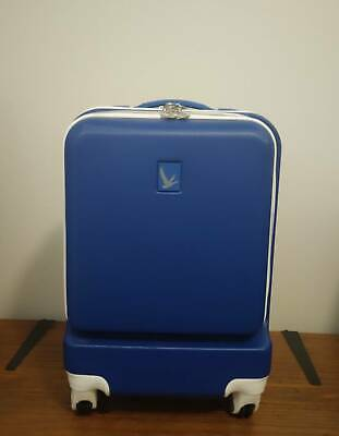 Travel Luggage overhead cabin hard shell case - Grey Goose