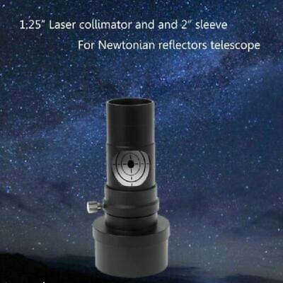 """1.25""""Laser Collimator 7 Bright Level 2 Adapter TO Telescope Newtonian Reflector"""