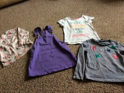 Girls clothes bundle age 3-4 years mixed