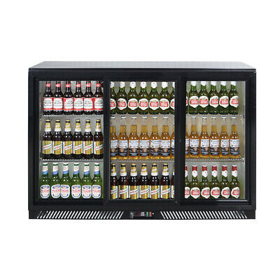 Zero Primo 3 Triple Sliding Door Bottle Cooler