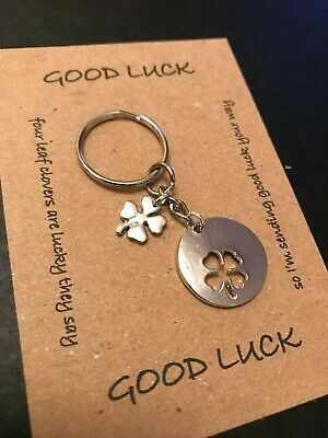 A Levels Exams Survival Charm Keyring GCSE Handmade Good Luck Gift for Exams