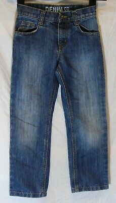 Boys Primark Mid Classic Blue Denim Relaxed Fit Jeans Age 7-8 Years