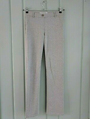 Betabrand Dress Pants Yoga Womens Small 4 6 Silver Gray Work Career Stretch