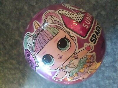 LOL Surprise Sparkle Series Sealed Ball In Hand.