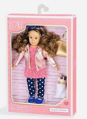 "Lori 6"" Doll Denelle & Dash Our Generation New"