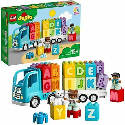 LEGO 10915 DUPLO My First Alphabet Truck Toy, Toddlers Learning Letters Bricks