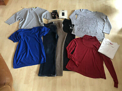 MATERNITY BUNDLE Jeans Trousers Jumpers Tops Size 14 - 16 X 10 Items