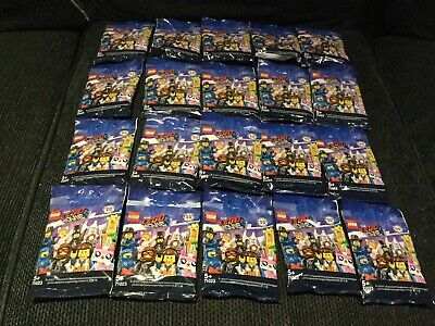 Lego :The Lego Movie 2 Complete Set Of 20 Minifigures New 71023