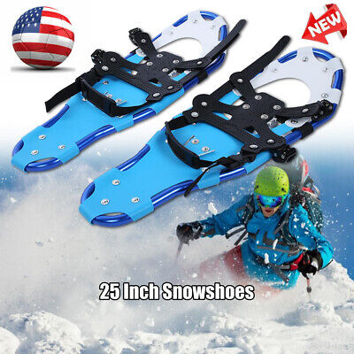 25 inch Outdoor Sports Snowshoes Men Women Winter Hike Shoes with Carrying Bag