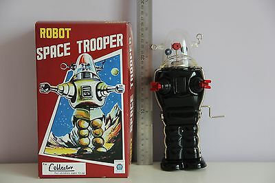 Planet Trooper Robby Roboter Tin Spielzeug Wind Up Nomura Alps Yoshiya Horikawa