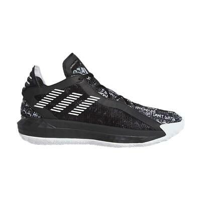 NEW Adidas Mens Athletic Sneakers Dame 6 Lace-Up Basketball Shoes