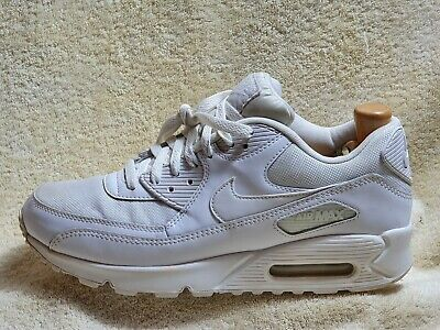 Nike Air Max 90 Essential mens trainers Leather White UK 9 EUR 44