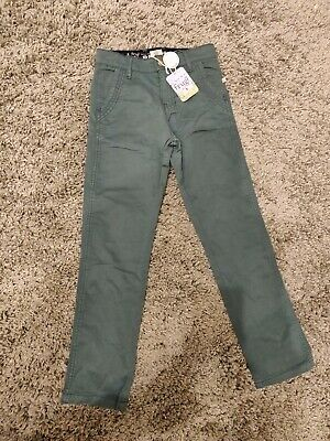 Frugi Organic Cotton 'Forester' Chinos. 7-8 Years Brand New With Tags.