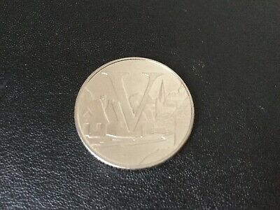 A-Z 10p Coin 2019 - Letter V 'Village' - UNCIRCULATED coin 1