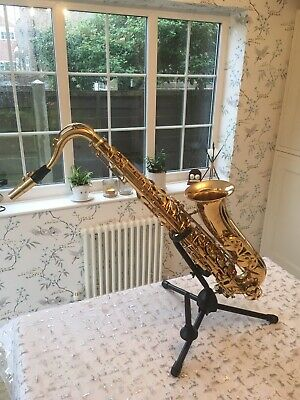 Buffet Crampon Tenor Saxophone With Case And Stand - Rarely Used