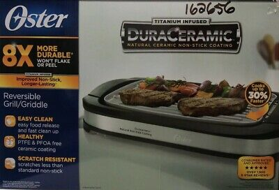 Oster Reversible Grill Or Griddle
