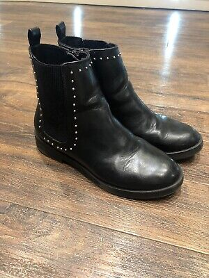 Girls Gorgeous Black *Zara* Boots UK 2/EUR35 VGC
