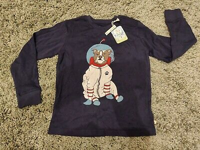 Frugi Organic Cotton Boys PJ Top Size 7-8years Brand New With Tags.