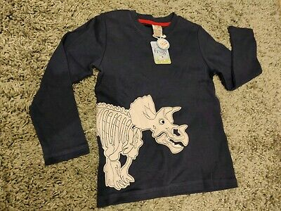 Frugi Organic Cotton Boys Long Sleeve Top  7-8 Years. Brand New With Tags.