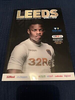 2017-2018-Leeds United-Utd V Sheffield Utd-17/18-Championship Football Programme