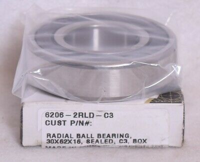 Peer Bearing 6004-2RLD-C3 Radial Ball Bearing 20x42x12 Sealed