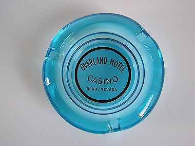 Overland Hotel Casino Reno Nevada ashtray