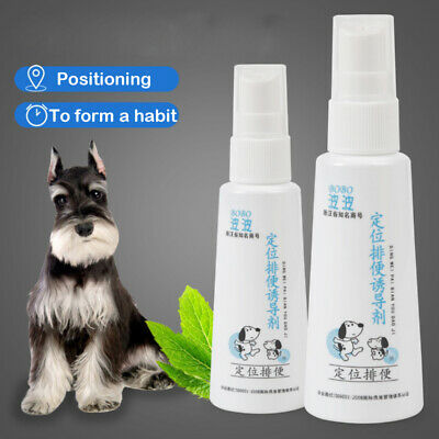 NEW 60ml Defecation Training Spray Potty Aid Dogs And Puppies Puppy Liquid Cats