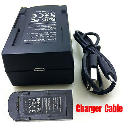 Portable Battery Charger with Charging Cable for JJRC X9 GPS RC Drone Quadcopter