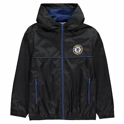 Source Lab Boys Kids Chelsea Fc Football Sports Hooded Shower Jacket Coat Top