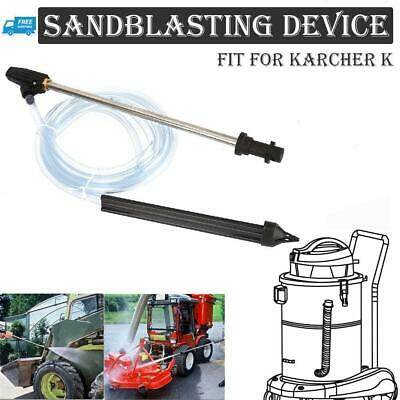Sand Blaster Hose Nozzle Wet Washer Sandblasting Kit for Karcher K Pressure Gun