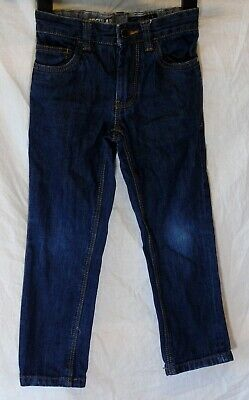 Boys Next Dark Blue Denim Adjustable Waist Regular Fit Jeans Age 6 Years