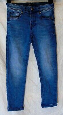 Boys Next Blue Denim Adjustable Waist Stretch Skinny Fit Jeans Age 4 Years