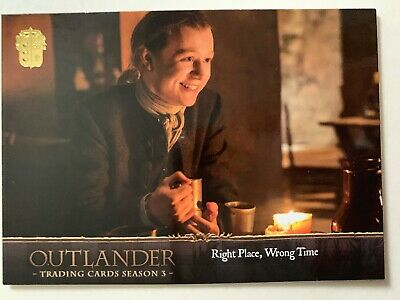 Outlander Season 3 Canvas Base Card #38 Business and Pleasure