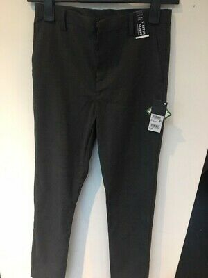 Boys Next School Trousers Dark Grey Skinny 14 years New