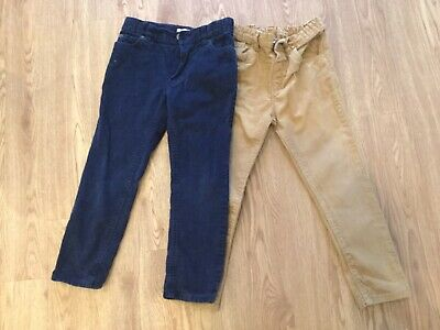 Boys Corduroy trousers 5,  two pairs John Lewis and Tu with adjustable waists