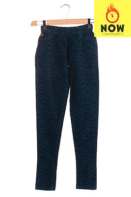 RRP €105 AMERICAN OUTFITTERS Velour Trousers Size 10Y Patterned Logo Detail