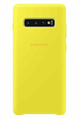 BRAND NEW GENUINE Samsung Soft Touch Cover for Galaxy S10 - Yellow