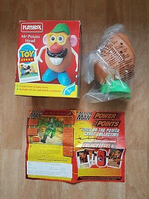 Mr Potato Head Plastic Toy Story Disney's Pixar Vintage Retro Playskool