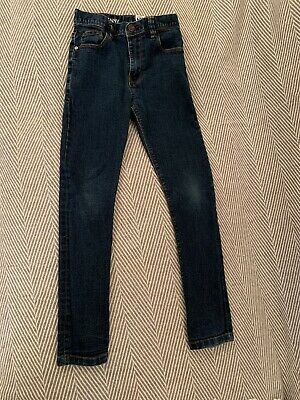 Next Boys Skinny Fit Jeans Size Age 9 Years Height 134cm