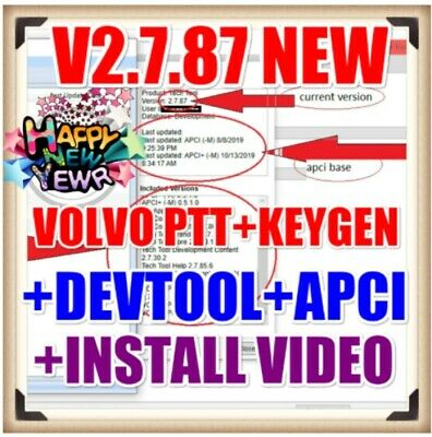 2019 NEW Premium Tech Tool PTT V2.7.87 V2.7.25 VCADS Development + Devtool Plus+