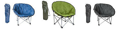 Summit Orca Moon Chair Portable Festival Outdoors Camping Padded Bucket Seat