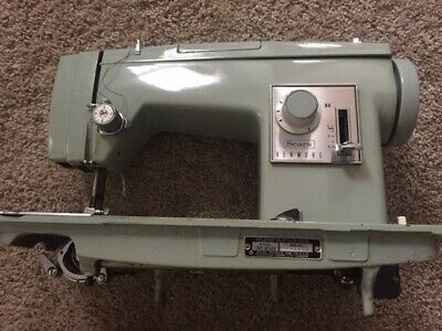 Vintage Sears Roebuck (Kenmore) sewing machine Mod#158.16520 w/ attachments
