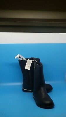 New Old Navy Toddler Girls Black Boots Size 8