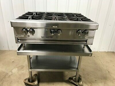 "Southbend 36"" 6 Burner Gas Range Hotplate W/Stand, Gas line, 2015"