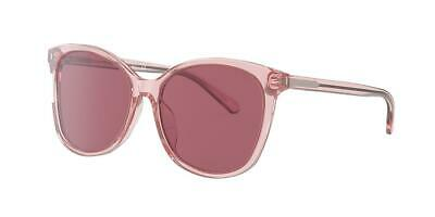 COACH 57 mm L1101 Transparent Pink One Size