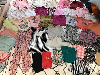 HUGE Girls Size 2-3-4 Years Clothes Bundle - George, Primark, Nutmeg, M&S