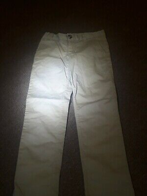 Boys H&m Chino Style Trousers Age 6 Yrs