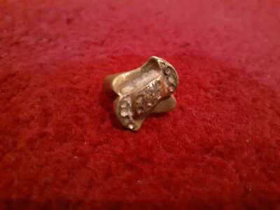 Ancient Antique Roman Legionary Ring Bronze Very Old Artifact Extremely Rare